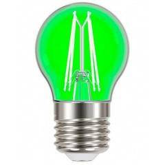 Lâmpada Led com Filamento Color Bolinha G45 4w Autovolt Luz Verde - Taschibra