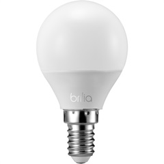 Lâmpada Led Mini Globo 3w Bivolt Intelligent 2700k - Brilia