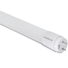 Lâmpada Led Tubular T8 10w Bivolt 6500k Luz Branca - Empalux