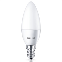 Lâmpada Led Vela 3,5w Bivolt Luz Branca - Philips