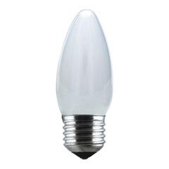 Lâmpada Vela Leitosa 40w 110v - Taschibra