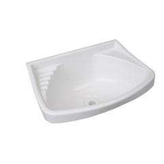 Lavatório de Plástico 4,8 Litros Branco - Astra