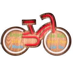 Letreiro Decorativo Bike Neon - Casa Etna