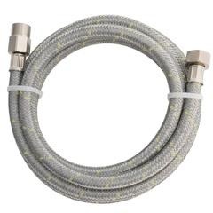 Ligação Flexível de Aço Inox para Instalação de Gás 2,00 Metros - Blukit