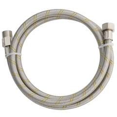 Ligação Flexível em Inox para Gás 1/2''X1/2'' com 1,50 Metro - Blukit