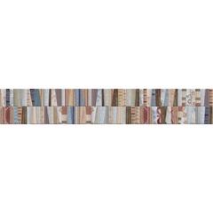 Listelo Patchwork Retificado Acetinado Colorido 15x87,7cm - Portinari