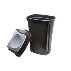 Lixeira Basculante Ecoblack 14 Litros  3486 - Plasútil