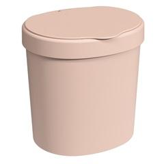 Lixeira Basic de 2,5 Litros Rosa Blush - Coza