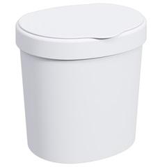 Lixeira Branca 2,5 Litros - Coza