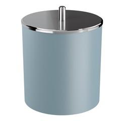 Lixeira com Tampa em Inox de 5,4 Litros Azul Fog - Coza
