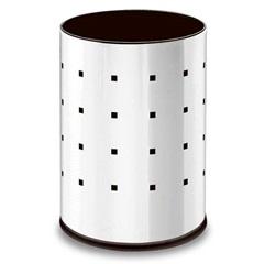 Lixeira em Aço Inox 9,4 Litros Cromada - Brinox