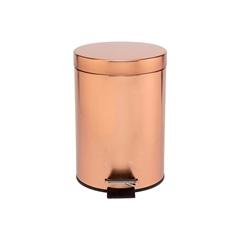 Lixeira em Inox com Pedal 3 Litros Rose Gold - Casanova