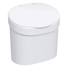 Lixeira em Polipropileno Sobre a Pia 4 Litros Branca - Coza