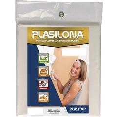 Lona Plástica Plasilona 5x4m Transparente