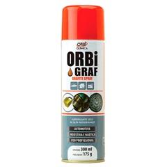 Lubrificante Seco Spray Grafite 300ml - Orbi Química