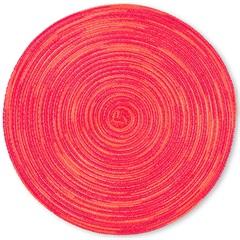 Lugar Americano em Algodão Mixed 38cm Vermelho - Casa Etna