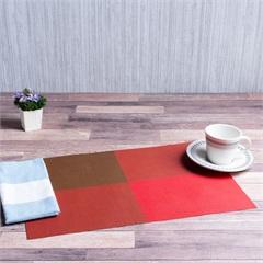 Lugar Americano Geométrico Toth 30x45cm Vermelho - Casa Etna