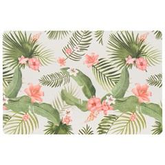 Lugar Americano Retangular em Pvc Print Flor de Hibisco 28,5x44cm - Copa & Cia