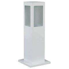 Luminária Balizadora em Alumínio de Sobrepor Externa 30cm Branca - Blumenau