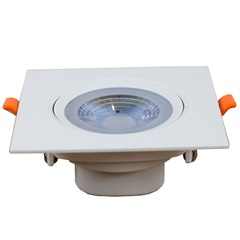 Luminária de Embutir Quadrada Easy Led 10w 6500k Bivolt 112x112cm Luz Branca - Bronzearte
