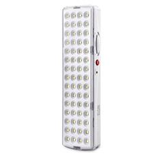Luminária de Emergência Retangular 60 Leds Bivolt Branca - Elgin