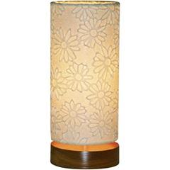 Luminária de Mesa Flor Branca