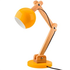 Luminária de Mesa para 1 Lâmpada Bivolt Bola Citrus - Casanova