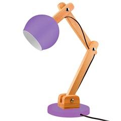 Luminária de Mesa para 1 Lâmpada Bivolt Bola Ultra Violet - Casanova