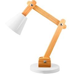 Luminária de Mesa para 1 Lâmpada Bivolt Cone Branca - Casanova