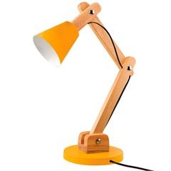 Luminária de Mesa para 1 Lâmpada Bivolt Cone Citrus - Casanova
