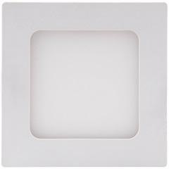 Luminária de Teto Led com Painel 6w Bivolt 434345 6500k Luz Branca - Brilia