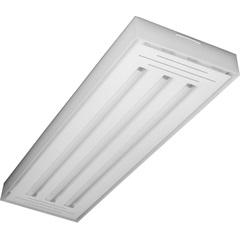 Luminária em Alumínio para 3 Lâmpadas Valência Led Tube 125x7cm - Tualux