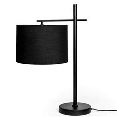 Luminária em Metal Pendule 35x25x53cm Preta - Casa Etna