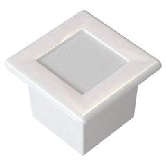Luminária Embutida Quadrada em Alumínio 9,6cm Branca - Blumenau