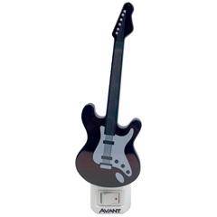 Luminária Led Noturna Guitarra 1w Bivolt 3000k Luz Amarela - Avant