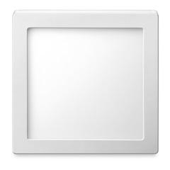 Luminária Painel de Led de Sobrepor Quadrada Downlight 6w Bivolt Branca 6500k - Elgin