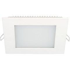 Luminária Painel Led de Embutir Quadrada 18w 6,500k Luz Branca - Taschibra