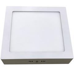 Luminária Painel Led de Sobrepor Quadrada Home 18w 6400k Bivolt Branca
