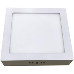 Luminária Painel Led de Sobrepor Quadrada Home 6w 3000k Bivolt Branca - Bronzearte