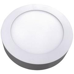 Luminária Painel Led de Sobrepor Redonda Home 12w 3000k Bivolt Branco - Bronzearte