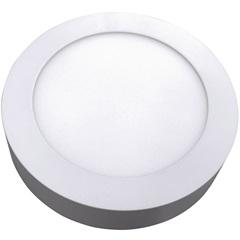 Luminária Painel Led de Sobrepor Redonda Home 24w 6400k Bivolt Branca