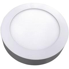 Luminária Painel Led de Sobrepor Redonda Home 6w 6400k Bivolt Branco - Bronzearte