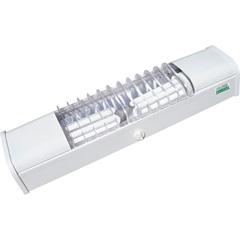Luminária para 2 Lâmpadas Compacta Ta-7 43cm Branca - Taschibra
