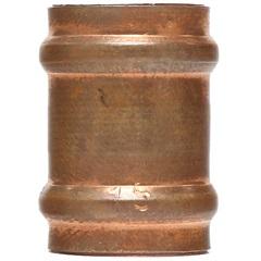 Luva em Cobre Passante com Solda 15x15mm Cobreada - Ramo Conexões