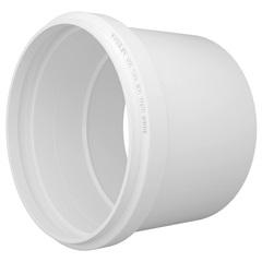 Luva Simples em Pvc para Esgoto 50mm Branca - Fortlev