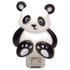 Luz Noturna Panda 1w Bivolt 12x8cm 3000k Luz Amarela - Avant