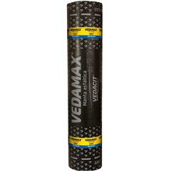 Manta Asfáltica Impermeabilizante Vedamax Alumínio 3mm Rolo 10m²