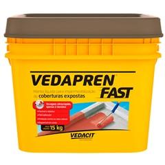 Manta Líquida Acrílica Vedapren Fast Concreto 15kg - Vedacit