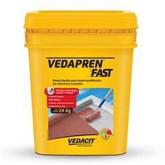 Manta Líquida Vedapren Fast Concreto 24kg - Vedacit