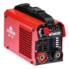 Máquina Inversora para Solda Arc 130a 220v Vermelha - Worker